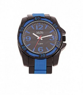 Reloj Micro Unisex Bisel Y Armi Azul-Neg - 213020