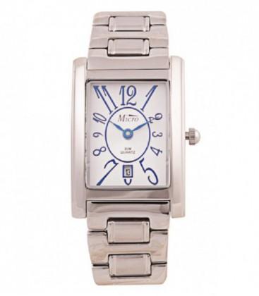 Reloj Micro señora brazalete-caja acero sumergible 30metros calendario - 220142