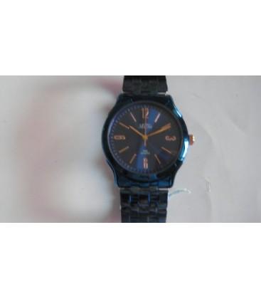 Reloj Micro caballero brazalete-caja azul esfera azul - 220191