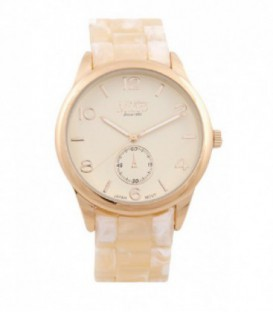 Reloj Micro sra pvc color carey esfera color crema - 237015