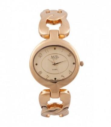 Reloj Micro señora brazalete dorado. - 237026